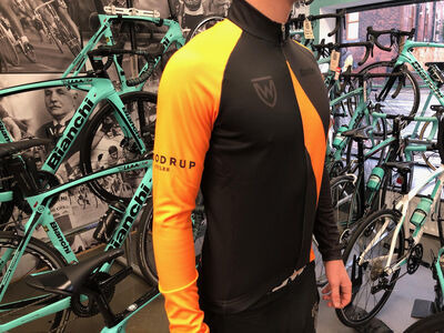 Woodrup Long Sleeve Winter Jersey - Orange